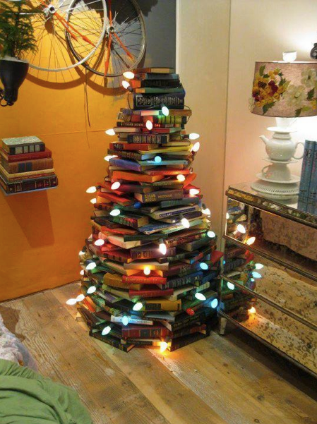 Bookish Christmas Tree